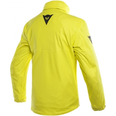 DAINESE bunda nepromok STORM LADY JACKET dámska fluo-yellow