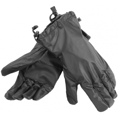 DAINESE návleky na rukavice RAIN OVERGLOVES black