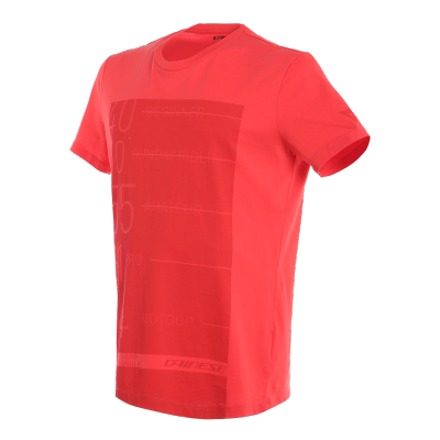 DAINESE triko LEAN-ANGLE red