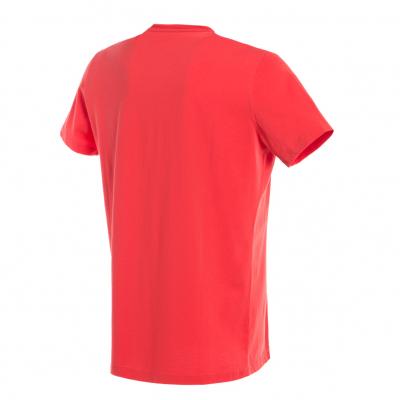 DAINESE tričko LEAN-ANGLE red
