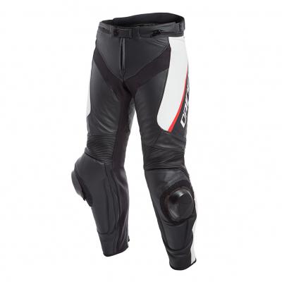 DAINESE kalhoty DELTA 3 black/white/red