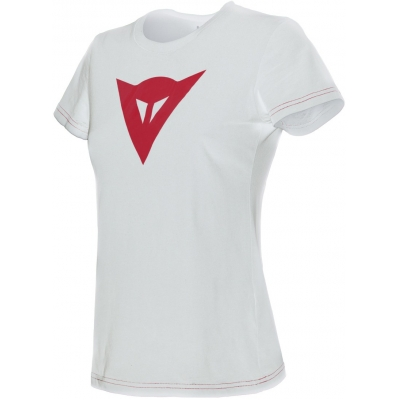 DAINESE triko SPEED DEMON dámské white/red