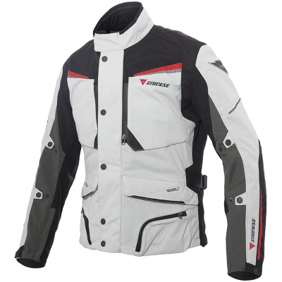 DAINESE bunda SANDSTORM GORE-TEX gray/black/red