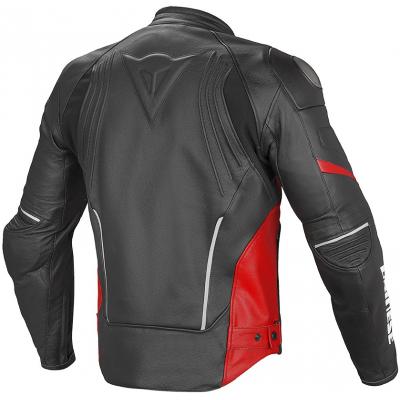 DAINESE bunda RACING D1 PELLE black/black/red