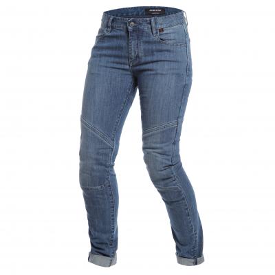 DAINESE kalhoty jean AMELIA SLIM LADY dámské medium denim