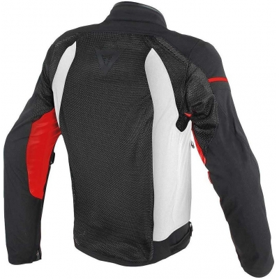 DAINESE bunda AIR-FRAME D1 TEX black/white/red