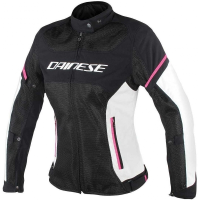 DAINESE bunda AIR-FRAME D1 dámská black/grey/pink