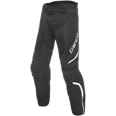 DAINESE nohavice DRAKE AIR D-DRY black/black/white