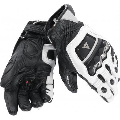 DAINESE rukavice 4 STROKE EVO white/black