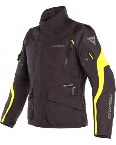 DAINESE bunda TEMPEST 2 D-DRY Black / Black / fluo-yellow