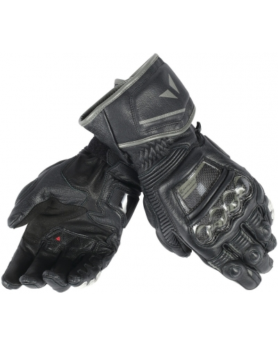 DAINESE rukavice DRUID D1 LONG black/black/black