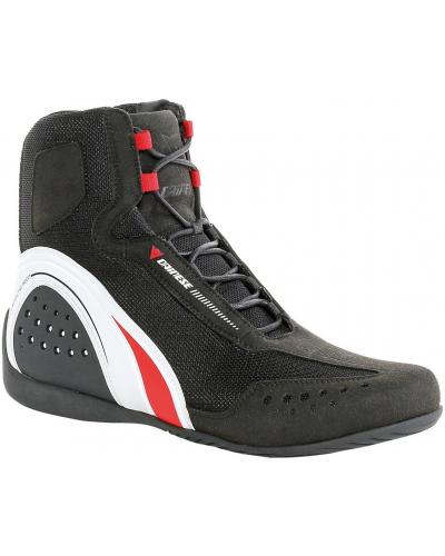 DAINESE topánky MOTORSHOE AIR JB black/white/red