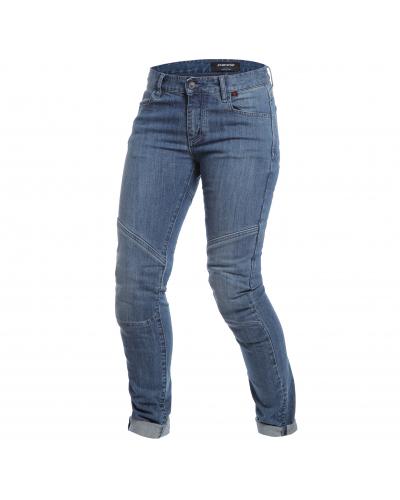 DAINESE nohavice jeans AMELIA SLIM LADY dámske medium denim