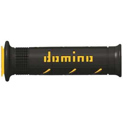 DOMINO rukojeti SOFT ROAD SuperSoft black/yellow