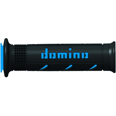 DOMINO rukojeti SOFT ROAD SuperSoft black/blue