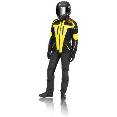 EVOLUTION bunda TJ 2.11 dámská black/fluo yellow