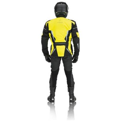 EVOLUTION bunda TJ 2.11 pánská black/fluo yellow