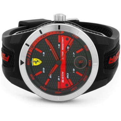FERRARI hodiny REDREV T black / red