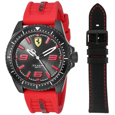 FERRARI hodiny XX KERS black / red