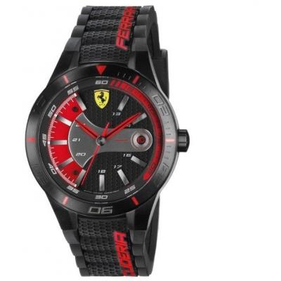 FERRARI hodinky REDREV EVO blakc / red