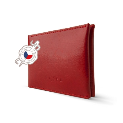 FIXED peněženka SMILE WALLET red