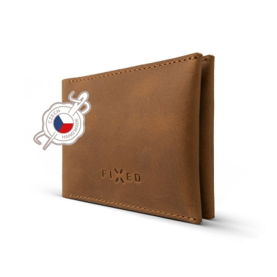 FIXED peněženka SMILE WALLET brown