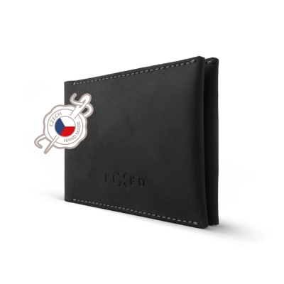 FIXED peněženka SMILE WALLET black