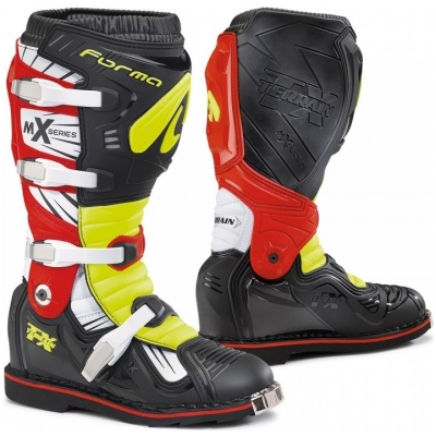 FORMA boty TERRAIN TX black/yellow fluo/red VYSTAVENÉ