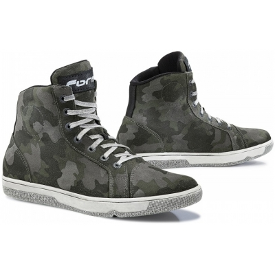 FORMA boty SLAM DRY WP black/white/camo
