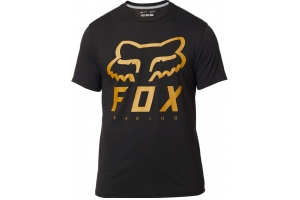 FOX tričko HERITAGE Forger SS Tech black / yellow