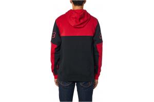 FOX mikina HONDA Fleece black/red