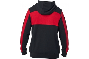 FOX mikina HONDA Fleece Zip black/red