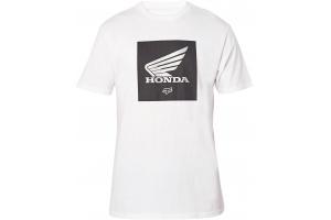 FOX triko HONDA SS Update Premium optic white