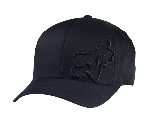 FOX kšiltovka FLEX 45 Flexfit black