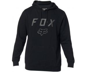 FOX mikina LEGACY MOTH black / black