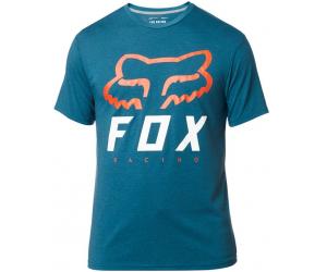 FOX tričko HERITAGE Forger SS Tech heather maui blue
