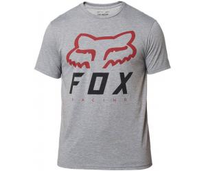 FOX tričko HERITAGE Forger SS Tech graphite / red