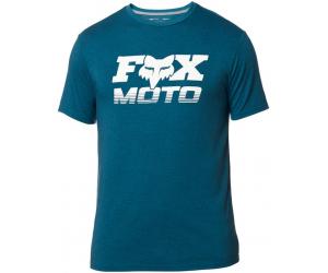 FOX triko CHARGER SS Tech heather maui blue