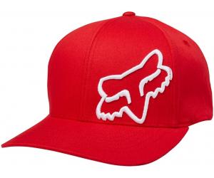 FOX kšiltovka FLEX 45 Flexfit dark red