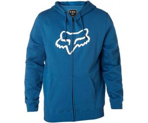 FOX mikina LEGACY FOXHEAD Zip dusty blue