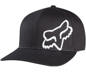FOX kšiltovka FLEX 45 Flexfit black/white