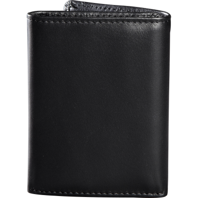 FOX peňaženka TRIFOLD LEATHER black