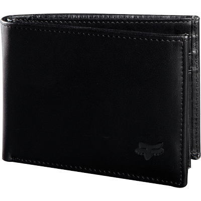 FOX peňaženka BIFOLD LEATHER black
