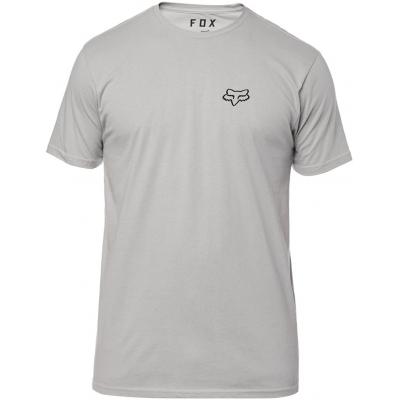 FOX triko SERVICE SS Premium steel grey