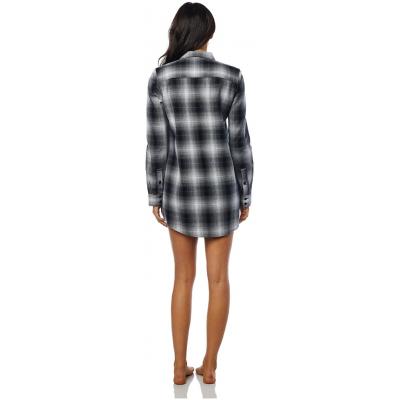 FOX košile MOTO X LONG Flannel dámské black/white