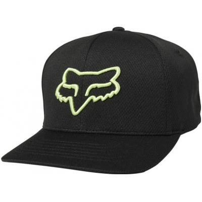FOX kšiltovka LITHOTYPE Flexfit black/green