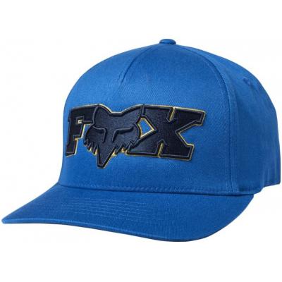 FOX kšiltovka ELLIPSOID Flexfit royal blue