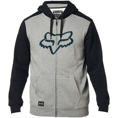 FOX mikina DESTRAKT Fleece graphite / black