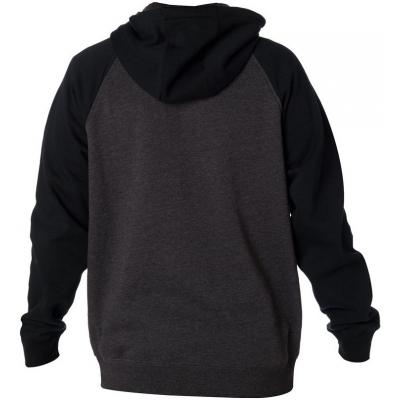 FOX mikina LEGACY Fleece black / charcoal