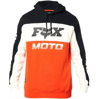 FOX mikina CHARGER Fleece black / orange